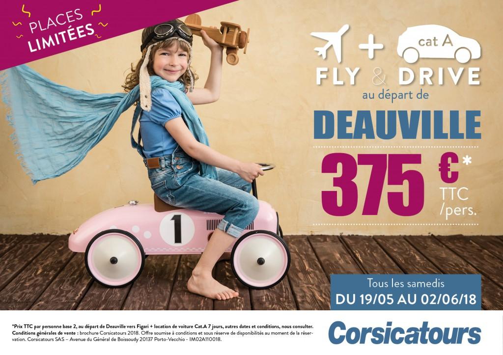 Figari au départ de Deauville-Normandie
